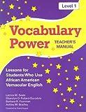 Vocabulary Power Level 1, Latrice M. Seals and Sharolyn D. Pollard-Durodola, 1557666806