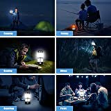 SUBOOS LED Camping Lantern Rechargeable, Dual
