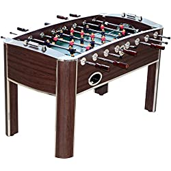 "MD Sports Barrington 58"" Wooden Home Gameroom Foosball Table with Accessories"
