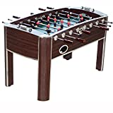 """MD Sports Barrington 58"""" Wooden Home Gameroom Foosball Table with Accessories"""