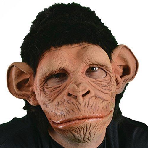 Zagone Monkey-Monkey!! Mask, Silly Monkey, Primate Character (Caesar Costume Ape)