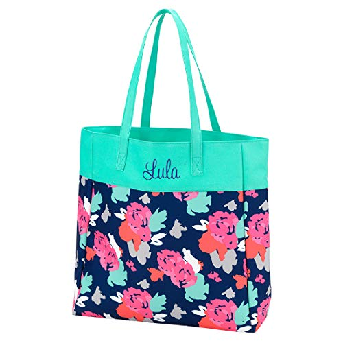 High Fashion Print Tote Bag - Personalization Available (Personalized Amelia) ()