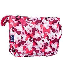 Wildkin Camo Pink Kickstart Messenger Bag