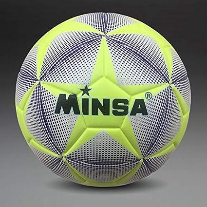MINSA – Balón de fútbol, Talla 4: Amazon.es: Deportes y aire libre