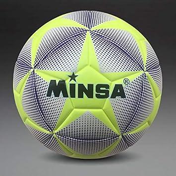 MINSA - Balón de fútbol, Talla 4: Amazon.es: Deportes y aire libre