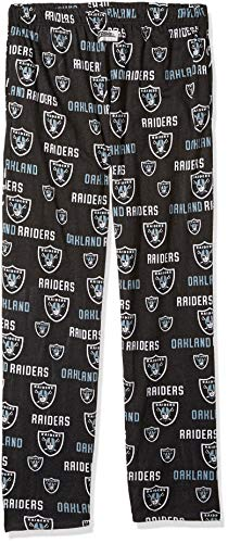 - Zubaz NFL Oakland Raiders Men's Comfy Pants, Black, XX-Large