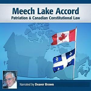 Meech Lake Accord Audiobook