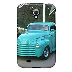 KIganVQ5785VzXgW Great Truck Fashion Tpu S4 Case Cover For Galaxy