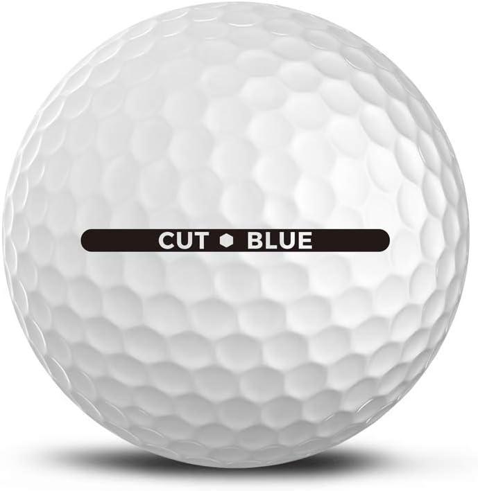 cut blue golf ball review