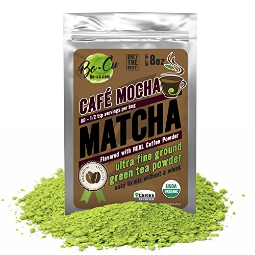 coffee bean matcha powder - 5