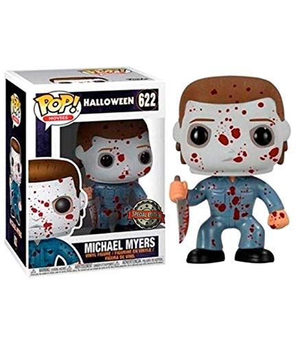 Funko - Figura de Halloween de Michael Myers Blood Splatter, Multicolor, 33