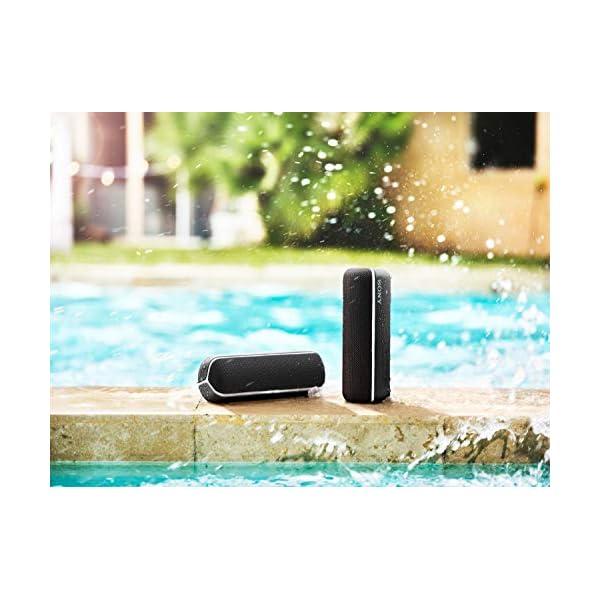 Sony SRS-XB22 Enceinte Portable Bluetooth Extra Bass Waterproof avec Lumières - Noir 7