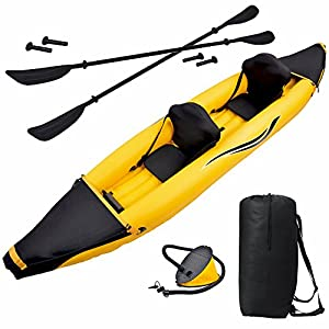 RL3602 Blue Wave Sports Nomad 2 Person Inflatable Kayak from Blue Wave Products, Inc.