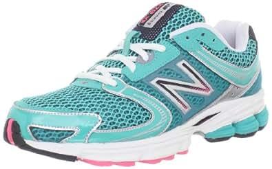 New Balance Women's W770 Running Shoe,Green/Grey,6.5 B US