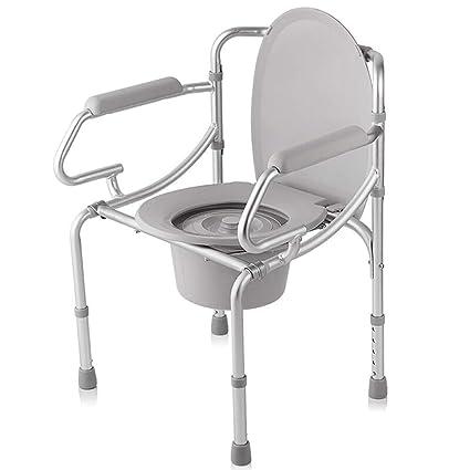 Pebegain Silla de Ducha de Aluminio para el baño, Asiento ...