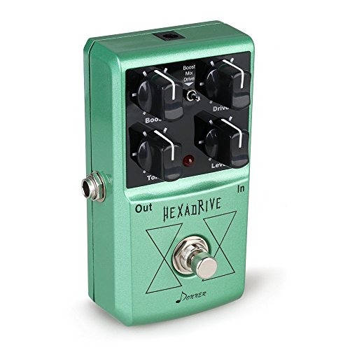 Donner Hexadrive Overdrive Effect Guitar