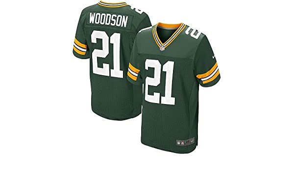 the latest 0cf2a 7e8da Amazon.com: Charles Woodson Jersey: Green Bay Packers #21 ...