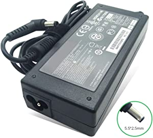19V 4.74A 90W 5.5 X 2.5 Laptop Charger Compatible with Asus N75E N75S U36 U36S U46E Notebook Power Supply AC DC Adapter
