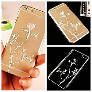 WQQ Small Flower Pattern Hard Back Case for iPhone 6