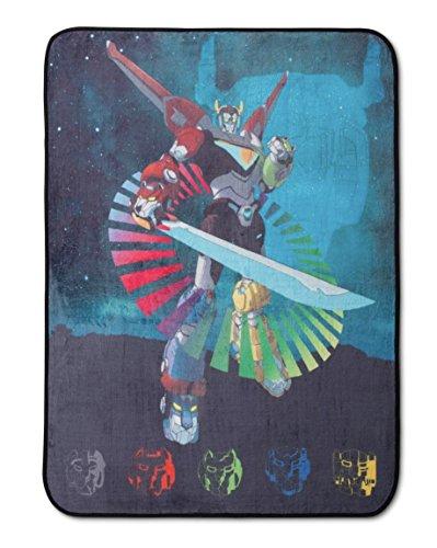 "Price comparison product image Dreamworks Voltron Plush Throw Blanket - 46"" x 60"""