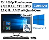 Lenovo Ideacentre Business 23.8'' Touchscreen FHD(1920x1080) All-in-One Desktop PC DVD-RW, Bluetooth, HDMI, Windows 10