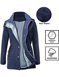 Raincoats Waterproof Lightweight Rain Jacket Active...