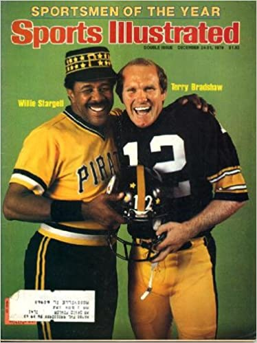 Sports Illustrated December 24 1979 Terry Bradshaw/Pittsburgh Steelers & Willie  Stargell/Pittsburgh Pirates on Cover (Sportsmen of the Year), UCLA Bruins  Basketball, Winterlude in Ottawa, College Bowl Previews: meremart:  Amazon.com: Books