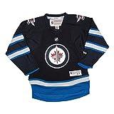 Winnipeg Jets Blank Navy Blue Infants 12-24 Months Reebok Home Replica Jersey