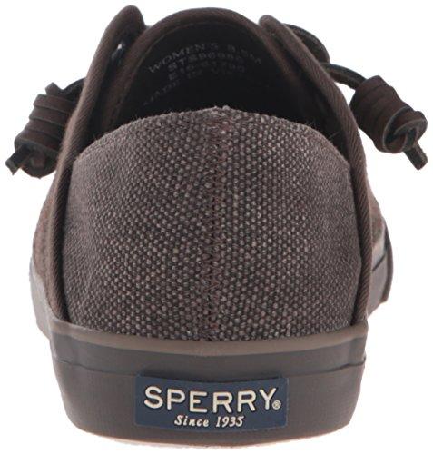 Sperry Top-sider Donna Seacoast Isola Plaid Kaki Moda Sneaker Kaki