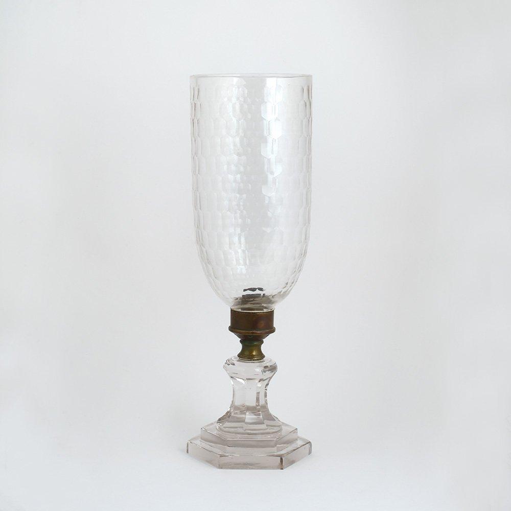 Handmade Vintage Clear Glass Table Lamp Antique Look for Living Room / Outdoor IndianShelf Online