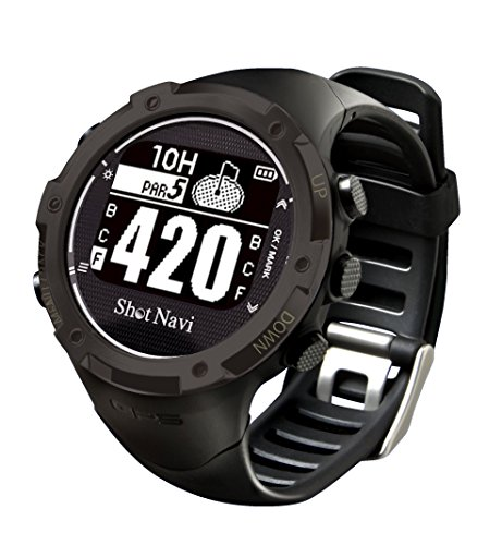Shot Navi W1-GL Golf GPS (Black) by W1-GL golf GPS (Black)