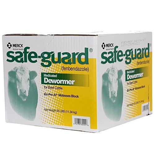 Merck 2259820 Wormer Safeguard Block EnProAl Molasses ()