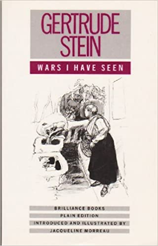 wars i have seen stein gertrude