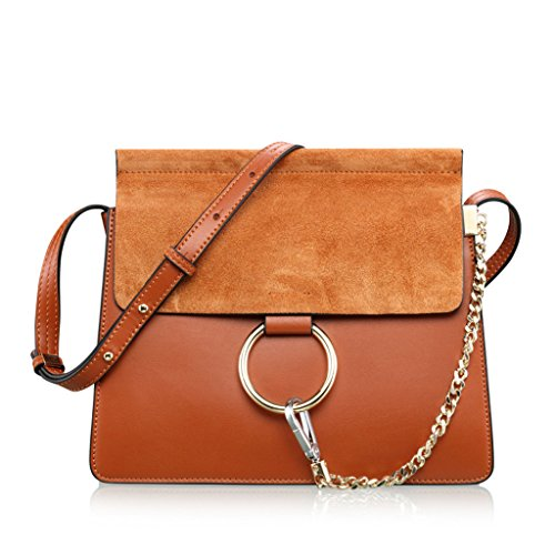 Shoulder Bags European And American Fashion Trend Wild Classic Handbags Messenger Bag (color: Brown) Brown
