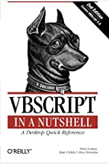 VBScript in a Nutshell, 2nd Edition Paperback