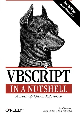 VBScript in a Nutshell, 2nd Edition by Paul Lomax