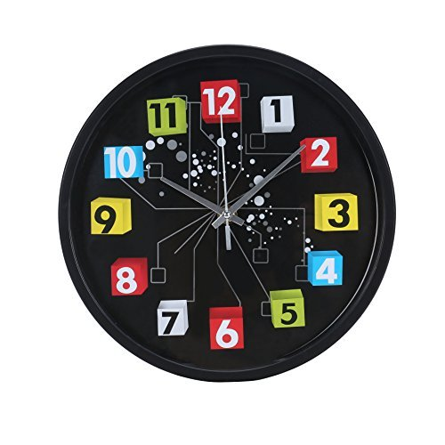 Solar Lighted Garden Clock - 4