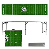 NCAA Sacramento State Hornets Football Field Version Folding Tailgate Table, 8'