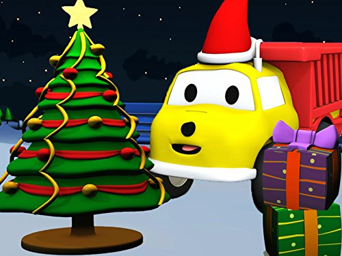 Learn numbers and colors with Ethan The Dump Truck : Unwrapping Christmas presents/Delivering Christmas presents