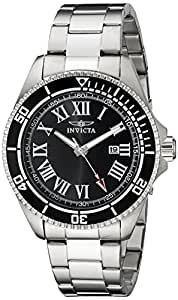 Invicta 14998 Pro Diver Black Dial Stainless Steel Watch for Men
