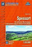 Hikeline Wanderführer Spessart. Die schönsten Wanderungen in der grünen Lunge im Herzen Deutschlands. 1 : 50 000, 558 km, wasserfest, GPS-Tracks zum Download