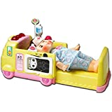 KONGSUNI Series Toy Ambulance Hospital Toy Set Doctor Playset Ambulance Turns Into A Hospital Bed Doctor playset Nurse Kit for Kids