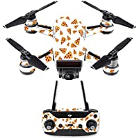 Skin for DJI Spark Mini Drone Combo - Body By Pizza| MightySkins Protective, Durable, and Unique Vinyl Decal wrap cover | Easy To Apply, Remove, and Change Styles | Made in the USA