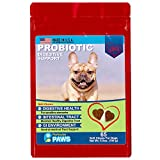 Probiotics for Dogs - Treats - for Digestion, Diarrhea Relief, Regularity, Promotes Immune System and Digestive Health - 65 Soft Chews