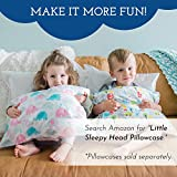 Toddler Pillow - Soft Hypoallergenic - Best Pillows for Kids! Better Neck Support and Sleeping! They Will Take a Better Nap in Bed, a Crib, or Even on the Floor at School! Makes Travel