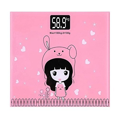 Sevia Bathroom Body Weighing Scale Digital Weight Machine Up to 180 kg (Size : 8 x 10 inch - Multi Color) (B07J6836LJ) Amazon Price History, Amazon Price Tracker