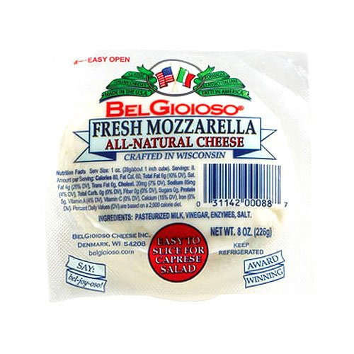 Fresh Mozzarella Ball by BelGioioso (8 ounce)