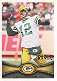 Aaron Rodgers Football Card (Green Bay Packers) 2012 Topps #177 League MVP