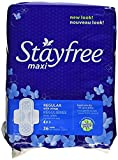StayFree Maxi Pads Regular with Wings 36 Count
