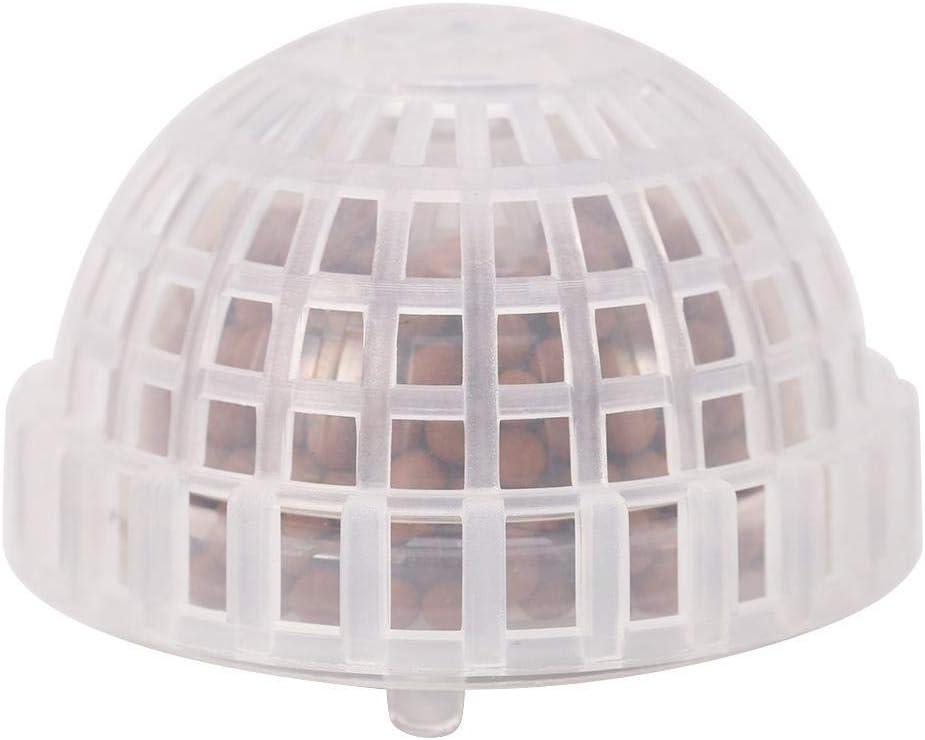 Bola de Musgo de plástico, Bola de Musgo Funcional para Tanque de Peces de Acuario Filtro de Bola de Musgo Soporte de Planta Viva Accesorios de decoración